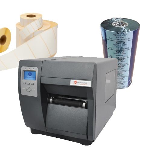Zubehör: Etiketten, Drucker und Farbbänder