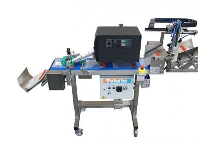 Beutel-trenner mit Drucker und Etikettiersystem