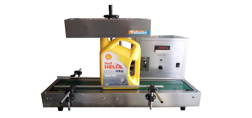 Sealmachine voor aluminium folie seal-dop | sealen