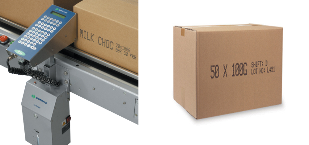 Verkoop: Domino C7 inkjet grootkarakterprinter