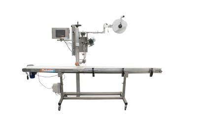 Verkoop: Etiketteermachine type BRU 2500 met lange transportband